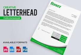 What Is Professional Letterhead Design Stylish And Professional Letterhead