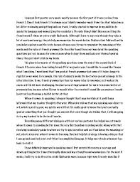 Reflective Analysis Essay Example Reflective Essay Examples For