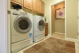 dedicated laundry room space