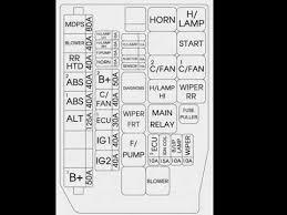 2007 2008 hyundai accent fuse box 2007 Hyundai Wiring Diagram Hyundai Elantra 2007 Parts Diagrams
