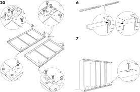Handleiding Ikea Pax Stordal Schuifdeuren Pagina 9 Van 12 Dansk