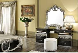 black and silver bedroom furniture. barocco vanity dresser blacksilver black and silver bedroom furniture