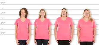 Customink Com Size Chart Customink Com Sizing Line Up For Hanes Womens 100 Cotton V