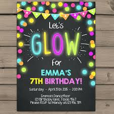 Making Party Invitations Online For Free Cool Party Invitations Party Invitations Awesome Glow Party