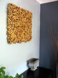 diy wine cork wall art