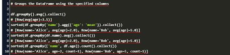 string columns by pandas dataframe