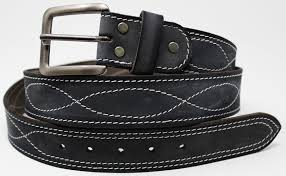 mens 100 cow leather belt strap casual work