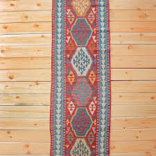 picture of 2 7 x 9 1 long turkish kilim runner