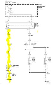 tj horn wiring diagram wiring diagram site horn issues jeep wrangler tj forum cj3a wiring diagram tj horn wiring diagram