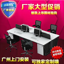 deck screen desk office furniture. Brilliant Office Guangzhou Office Furniture Combination Staff 4 Bit Minimalist Modern  Computer Desk Staff Deck Screen With Deck Screen Desk Office Furniture O