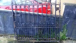 cast iron large garden gate 40