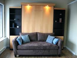 murphy bed with couch awesome sofa and traditional within combo ideas 17