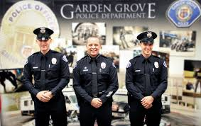 chief and recruits the garden grove police