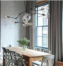 lindsey adelman branch replica lamp globe branching bubble chandelier glass