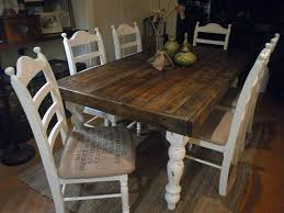 25 best rustic wood dining table ideas on kitchen