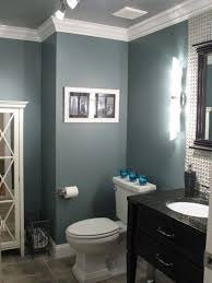 bathroom paint grey. Painting Grey Wall Color Wood Mirror For Small Bathroom Ideas Paint Colors Bathrooms Trends With White Crown Molding And Black Wooden Vanity Impressive L