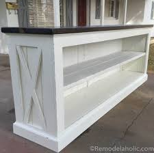 console sideboard table plans remodelaholic com 6