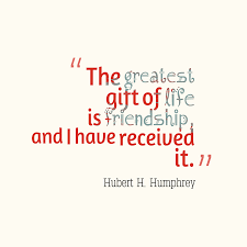 Hubert H Humphrey Quote About Gift