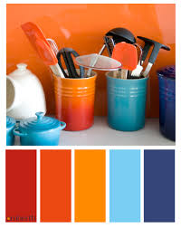 Small Picture Blue And Orange Interior Design for colorful decor your home