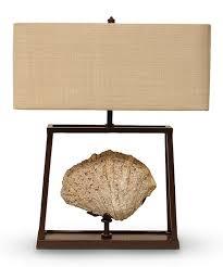 Palecek lighting Pendant Light Fossil Shell Lamp People Palecek Fossil Shell Lamp Zulily