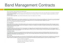 Management Contract Template Unique Artist Management Contract Agreement New Music Business Template Uk