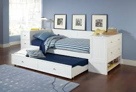white twin daybed with trundle. Simple Daybed Daybed With Bookcase Headboard Twin Or Full Size Bed Mattress White  Trundle Casey  Inside