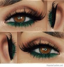 emerald brown eyes makeupmake