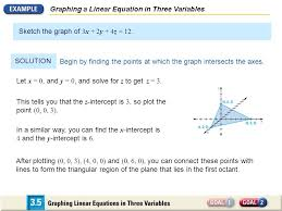 62 graphing a linear