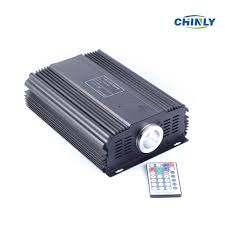 Chinly Led Grow Light Dmx 75w Rgb Led Fiber Optic Engine Driver 28key Rf Remote Controller For All Kinds Fiber Optics