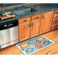 modern kitchen mat rug within mainstays new medallion com ideas contemporary rugs round best sink materials
