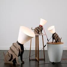 quirky lighting. Quirky Dog With Cone Shade Table Lamp Lighting R