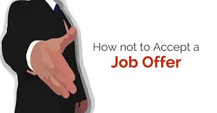 accept a job offer how not to accept a job offer 18 best tips wisestep