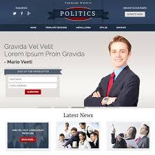 Politics Template Joomla Templates Hotthemes
