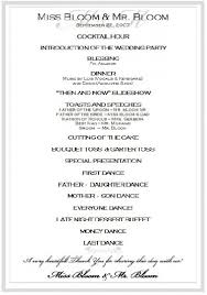 wedding reception program templates free download wedding reception program template cortezcolorado net
