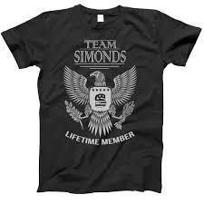 Amazon Com Team Simonds Lifetime Member Family Surname T
