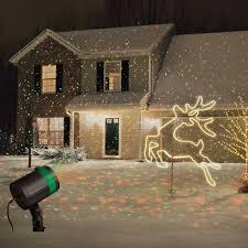 Christmas Projector Lights Ebay Set Of 2 Star Shower Laser Light Projectors Outdoor