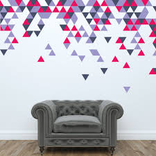 Small Picture Geometric Abstract Triangle Wall Stickers Wallboss Wall Stickers