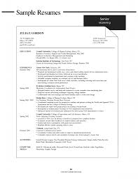 Example Resumes For College Students Impressive No Work Experience Resume Template First Resume No Experience