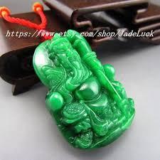 natural jade pendant guan gong guan