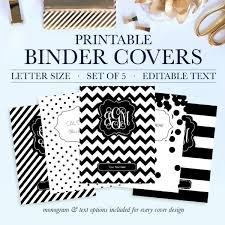 Printable Binder Cover Printable Binder Covers Jessica Marie Design