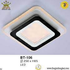 Đèn Ốp Trần Led Hiện Đại Euroto BT106 ɸ250