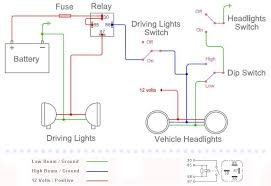 installing driving lights narva normally closed relay at Narva Relay Wiring Diagram