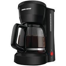 5 Cup Coffee Maker Top 5 Black Decker Dcm600b 5 Cup Coffeemaker Black Drip