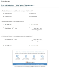 which of the following is the quadratic equation in standard form