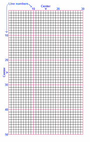 Incompetech Graph Paper Template Best More Printable Graph Paper For Cross Stitch This One Has Less