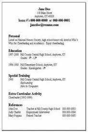 Basic Resume Examples - Gcenmedia.com - Gcenmedia.com