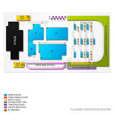Fillmore Auditorium Seating Chart Stone Temple Pilots In Denver Tickets Buy At Ticketcity