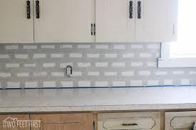 diy subway tile backsplash hometalk