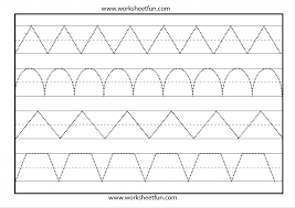 Kindergarten Tracing Sheets Worksheets For All | Download And ...