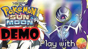Pokemon Sun and Moon Demo - Pokemoner.com